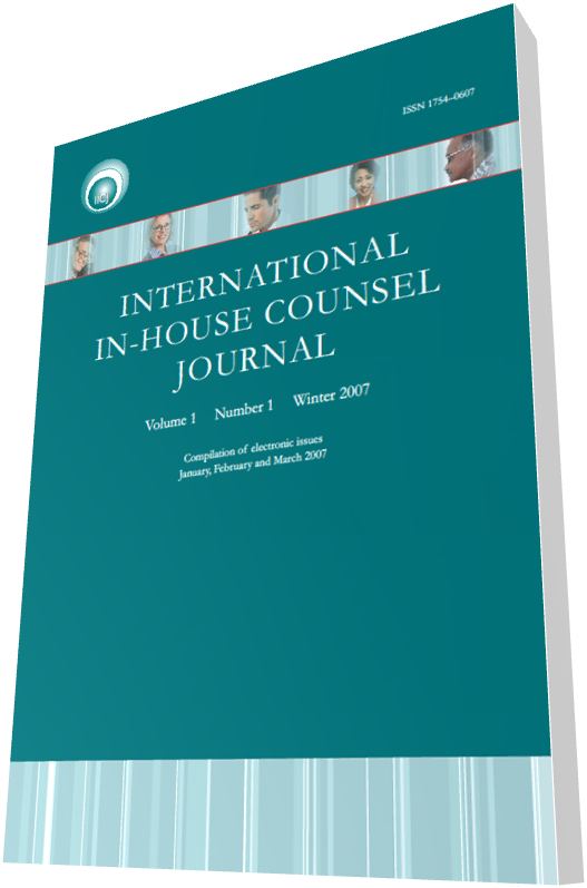 Sixth Annual IICJ Global In-house Counsel Survey Report 2014