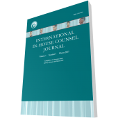 Second Annual IICJ Global In-house Counsel Survey Report 2010